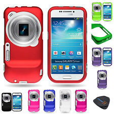 For Samsung Galaxy S4 Zoom Hard Rubberized Plastic Matte Phone Cover Case