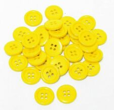 "30mm 1-1/4"" SZ 48 Plastic Coat Buttons YELLOW ORANGE 10-90 buttons Retail"
