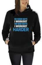 Work Out Harder Women Hoodie Bodybuilding Gym exercise Best Workout Motivation