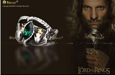 4 Sizes Vintage Lord of Rings Aragon's Ring Barahir Leopard Lotr Finger Ring