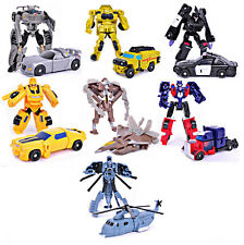 Transformable Robot figure Car Transformers similar to Optimus Prime & Bumblebee