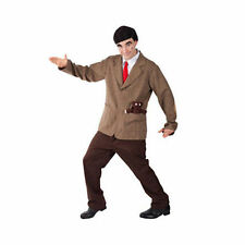 Para Hombre Con Licencia Oficial Mr Bean Fancy Dress Costume Traje Divertido Nuevo Tv 90 68486