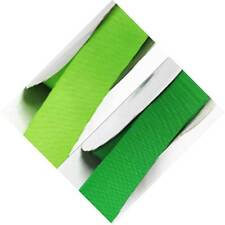 "Grosgrain Ribbon 2-1/4"" / 57mm Wide Wedding 5 Yards, Lime to Green"