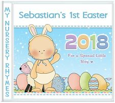 First Easter Baby Boy & Girl - Nursery Rhymes CD - 1st Easter Personalised Gifts