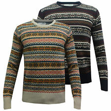 Pull Hommes Pull Brave Soul Pull À Tricot Motifs Hiver William