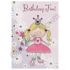 Girls birthday cards, high quality lots of designs FREE POSTAGE!!!