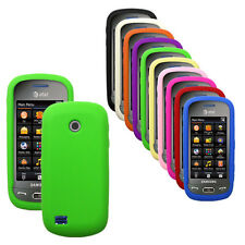 Silicone Soft Rubber Cover Case for Samsung Eternity II / A597