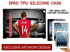 THIERRY HENRY - ARSENAL UNOFFICIAL IPAD TPU SILICONE HARD CASE