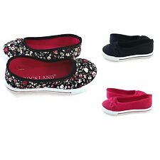 Youth Girls Hip Sneaker Shoes Canvas Slip-On w/ Bow- NIB Pink, Black & Floral