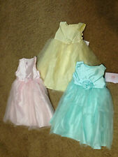 NWT Marmellata Pastel Tulle Pageant Wedding Easter Birthday Dress 18 & 24 mths