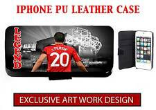 VAN PERSIE - MANCHESTER UNITED UNOFFICIAL IPHONE PU LEATHER CASE