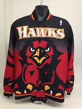 MITCHELL AND NESS ATLANTA HAWKS WARMUP JACKET 96-97 SEASON RETRO 6056A-3J6