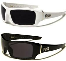NEW LOCS SUNGLASSES MENS LADIES BLACK WHITE LARGE WRAP DESIGNER BIG RETRO UV400