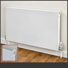 Vulcan Horizontal White Radiators - Single Panel, Convector Landscape Radiators
