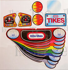 New Replacement Decals Stickers for Vtg Little Tikes Cozy Coupe Car  (Choice)