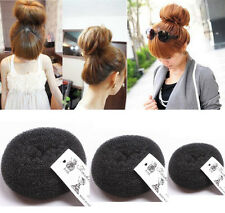Fashion Women Girl's Hair Bun Ring Donut Shaper Hair Styler Maker 3 Sizes