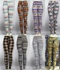 Women Skinny Colorful Print Leggings Stretch Sexy Pants Tights Slim Fit 8 Colors