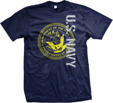 U.S. NAVY United States Of America Seal USA Support American Troops Mens T-Shirt
