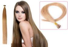 "18"" Indian Remy AAA Grade Double Drawn Stick Tip Human Hair Extensions x20 0.9g"