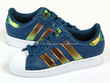 separation shoes 6ade7 454fd Adidas Originals Superstar Bling XL True Blue White Lifestyle Casual 2014  D65614