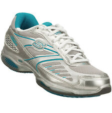 LADIES SKECHERS TONERS FITNESS TRAINERS SIZE 3 - 8 TURQUOISE ULTRA 13000 SLTQ