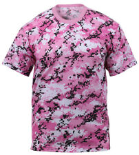 t-shirt camouflage camo pink digital cotton poly blend rothco 8957