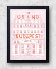 The Grand Budapest Hotel Poster - Wes Anderson film, Zubrowka, ralph fiennes