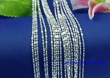 Wholesale lots 5pcs Silver 925 Necklace Chain 16-30 inches