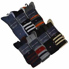 Tommy Hilfiger Socks Mens 4 Pack Dress Crew Cushion Sole Shoe Size 7 to 12 P009