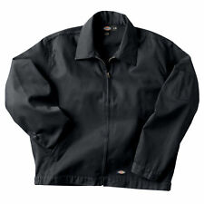 New! Dickies JT75 Black Unlined Eisenhower Jacket Sizes M-2X  *FREE US SHIPPING*