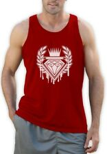Dripping Diamond ROYAL LOGO Singlet GRAPHIC SKATE URBAN INDIE Hip Hop DOPE Vest