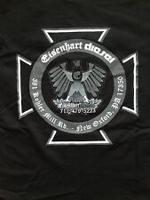 Eisenhart Diesel Official Apparel Mens Eagle & Maltese Cross Graphic T-Shirt