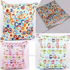 New Practical Wet Baby Child Cloth Waterproof Diaper Bag Cloth Nappy Multicolor