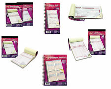 Duplicate Receipt Credit Petty Cash Order Sales Invoice Delivery Book Telephone