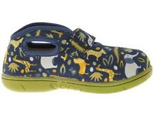 BOGS BABY NAVY BLUE VELCRO ZOO CANVAS SHOE