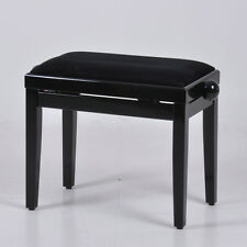 Classic Adjustable Piano Stool Digital Keyboard Piano Bench Black,White or Beech