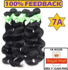 6A Peruvian 100 grams Virgin Body Wave Remy 100% Human Weft Hair Extensions UK