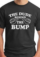 The Guy Behind The Bump New Daddy To Be Baby Announcement Funny T Shirt