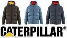 CATERPILLAR Boys Junior Kids Jacket Hooded Padded Hood School Coat Age 4-14 NEW