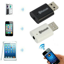 USB Bluetooth 3.5mm Audio Stereo Music Receiver For iphone 4 5 Car MP3