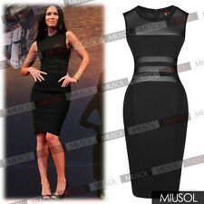 Women's Sexy Clothing Celeb Style Fromal Cocktail Party Knee Bodycon Dresses