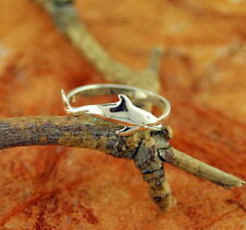 Dolphin Ring 925 Sterling Silver Animal Ring Sea Animal Gift Idea Jewelry