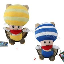 "Lovely Game New Super Mario Bros. U Toad Mushroom 21cm/8.4"" Soft Plush Doll Toy"