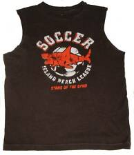 Gap Kids Boys Soccer Logo Muscle Tank L 12 Or XL 14