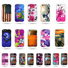 For BLU Life One L120 - Hard Protective Snap On High Quality Stylish Design Case