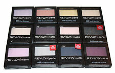 Revlon Matte, Satin and Perle Eye Shadow - Choose Your Shade