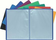 A4 Soft Cover Display Book Anti-Glare Pockets Presentation Folder File Portfolio