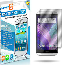 Lot New HD Clear Anti Glare LCD Screen Protector Cover for HTC One (M8)