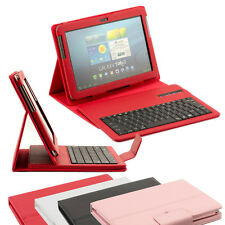 Stand Case and Removable Bluetooth Keyboard for Samsung Galaxy Tab 1 & 2 10.1""