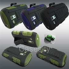 FOR SAMSUNG GALAXY S3 MINI TANK ARMOR HYBRID PHONE CASE COVER WITH HOLSTER CLIP